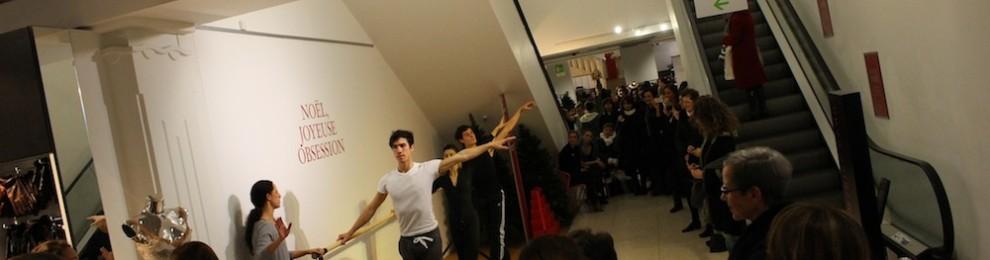 Les danseurs investissent les allées du Printemps