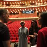 Le directeur général et artistique du CCN – Ballet de Lorraine en pleine discussion